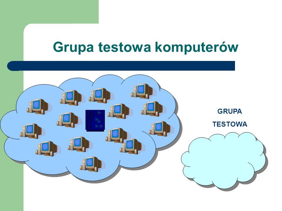 Grupa testowa komputerów GRUPA TESTOWA