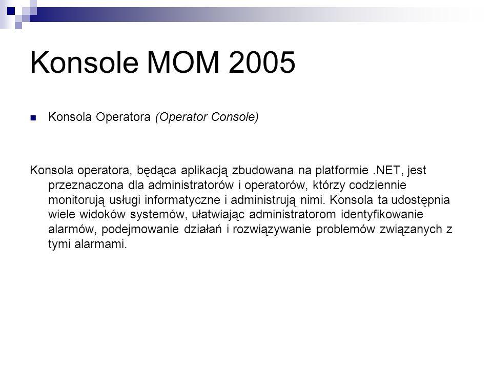 Konsole MOM 2005