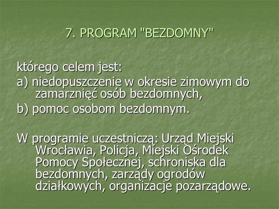 7. PROGRAM