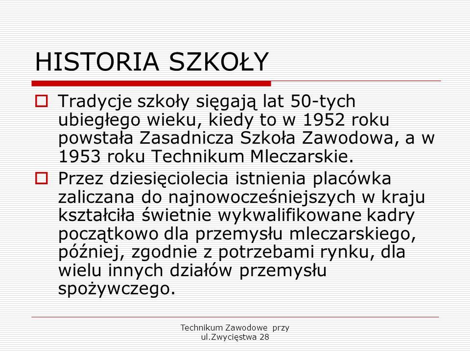 Technikum Zawodowe przy ul.Zwycięstwa 28 Więcej informacji na stronie: www.10lo.pl oraz pod numerami telefonów (085) 651-17-95 oraz (085) 664-74-33 Zapraszamy również do odwiedzin osobistych naszej szkoły, gdzie zostaniecie Państwo serdecznie przyjęci przez naszych pracowników www.10lo.pl