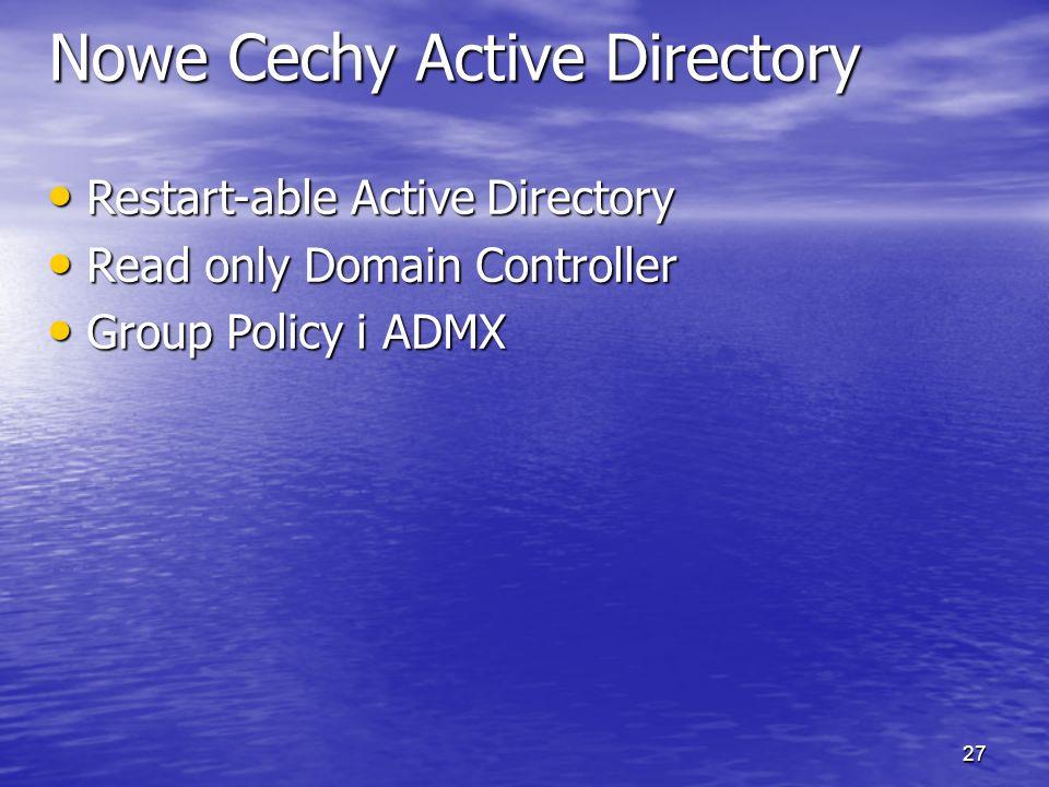 26 Usprawnienia w Active Directory