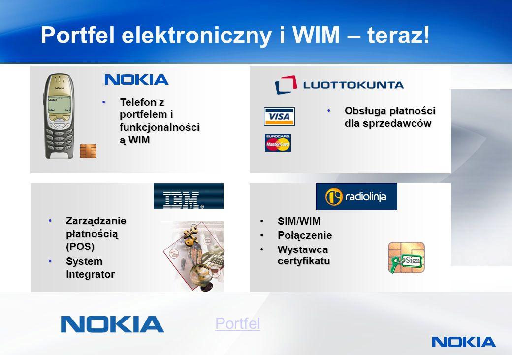 Portfel elektroniczny i WIM – teraz.