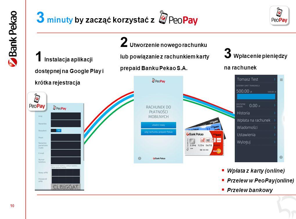 9 to dwie aplikacje Aplikacja dla płacących mPOS – aplikacja dla akceptujących