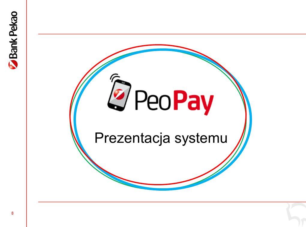 7 Bank Pekao - lider rozwiązań mobilnych w Polsce Nowoczesność, szybkość i wygoda korzystania ! - pakiet usług mobilnych Banku Pekao Pierwszy system d
