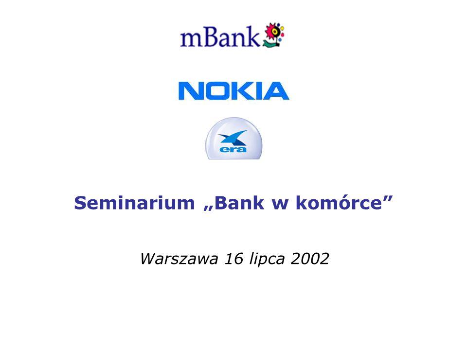 Seminarium Bank w komórce Warszawa 16 lipca 2002