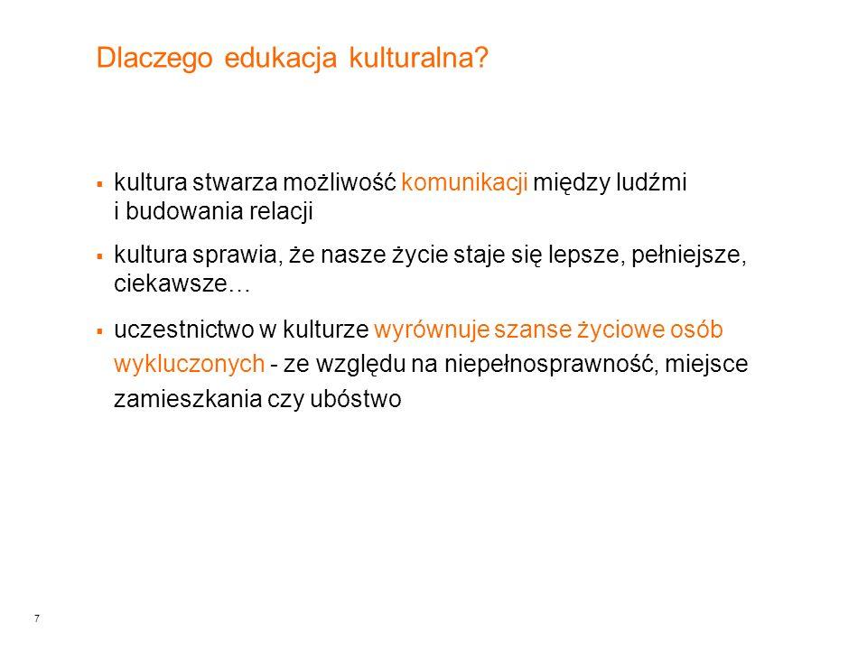 7 Dlaczego edukacja kulturalna.