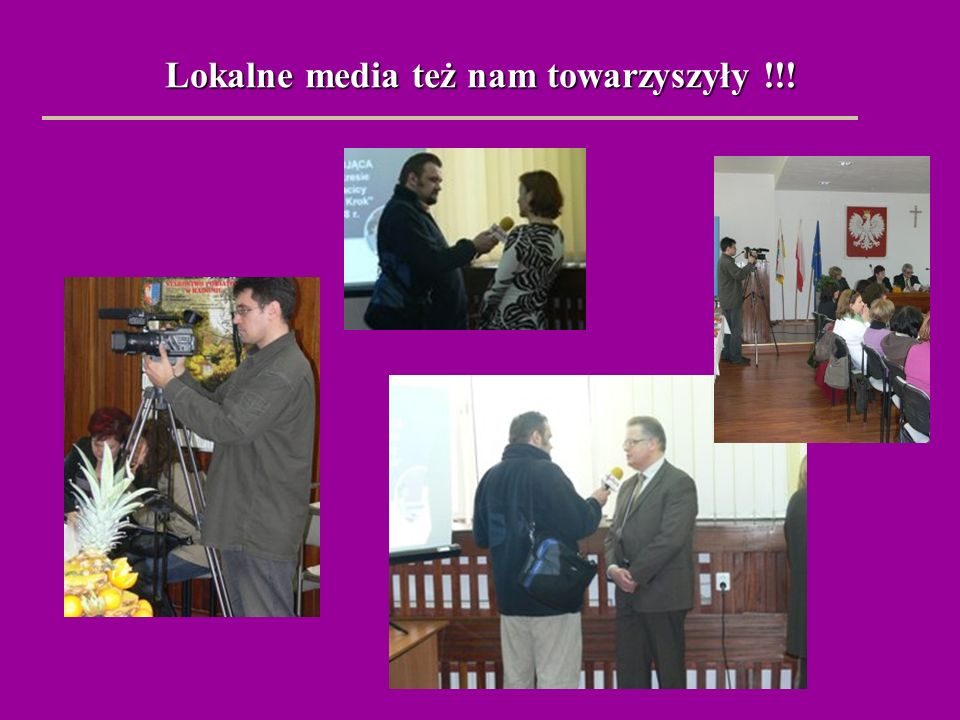 Lokalne media też nam towarzyszyły !!!