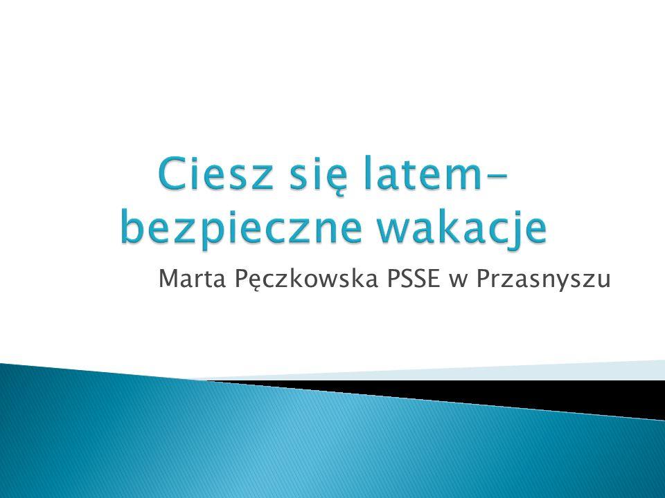 Marta Pęczkowska PSSE w Przasnyszu