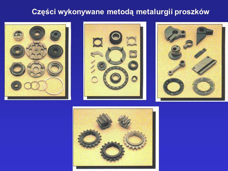 Części wykonywane metodą metalurgii proszków