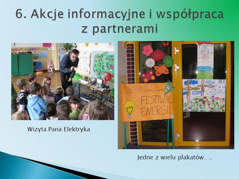 Wizyta Pana Elektryka Jedne z wielu plakatów….