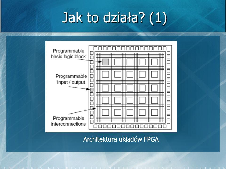 Przykładowy projekt (3) o Wynik symulacji w programie Quartus II