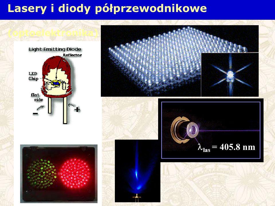 las = 405.8 nm Lasery i diody półprzewodnikowe (optoelektronika)