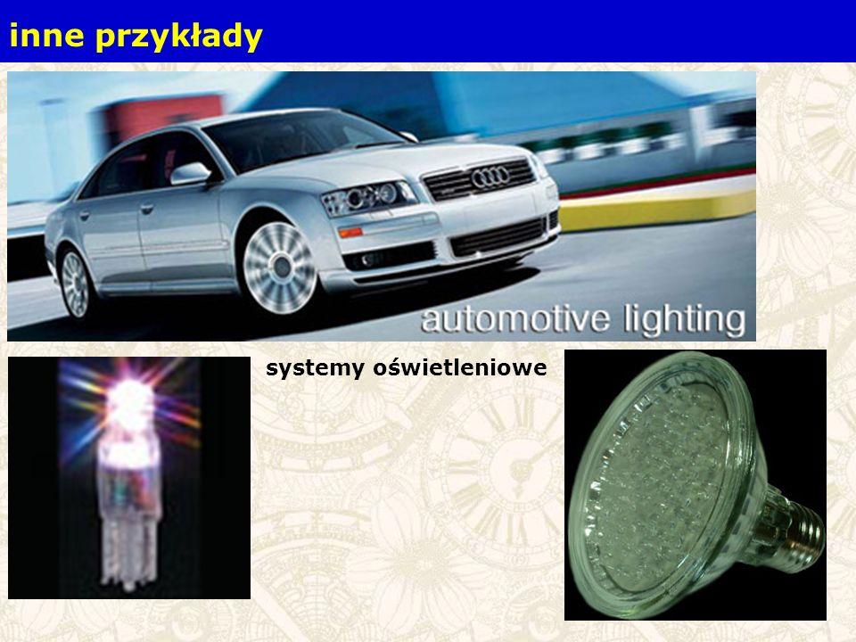 systemy oświetleniowe inne przykłady