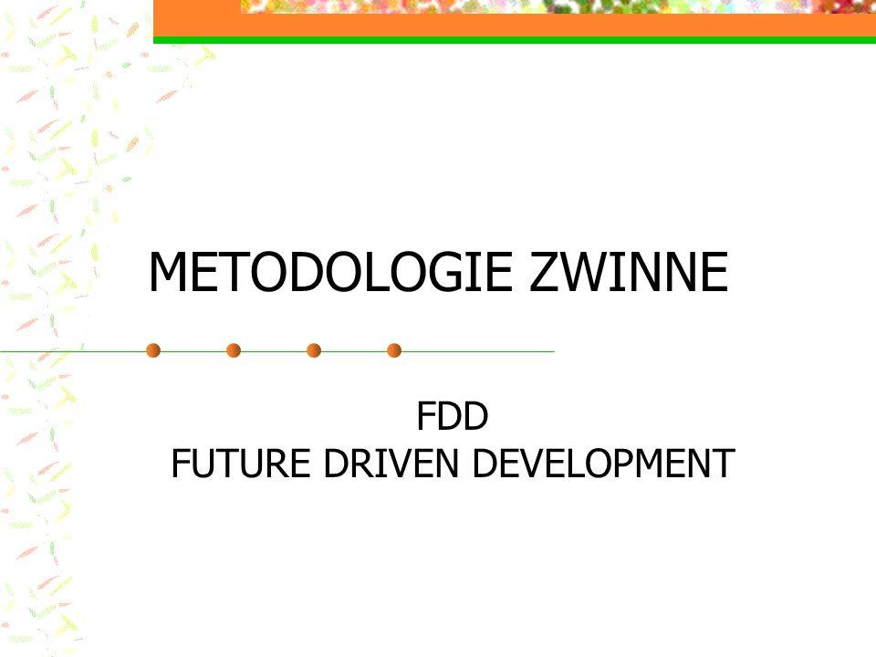 METODOLOGIE ZWINNE FDD FUTURE DRIVEN DEVELOPMENT