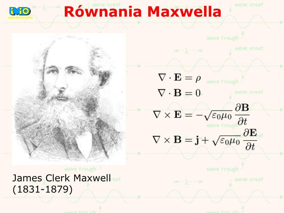 Równania Maxwella w postaci różniczkowej i całkowej.