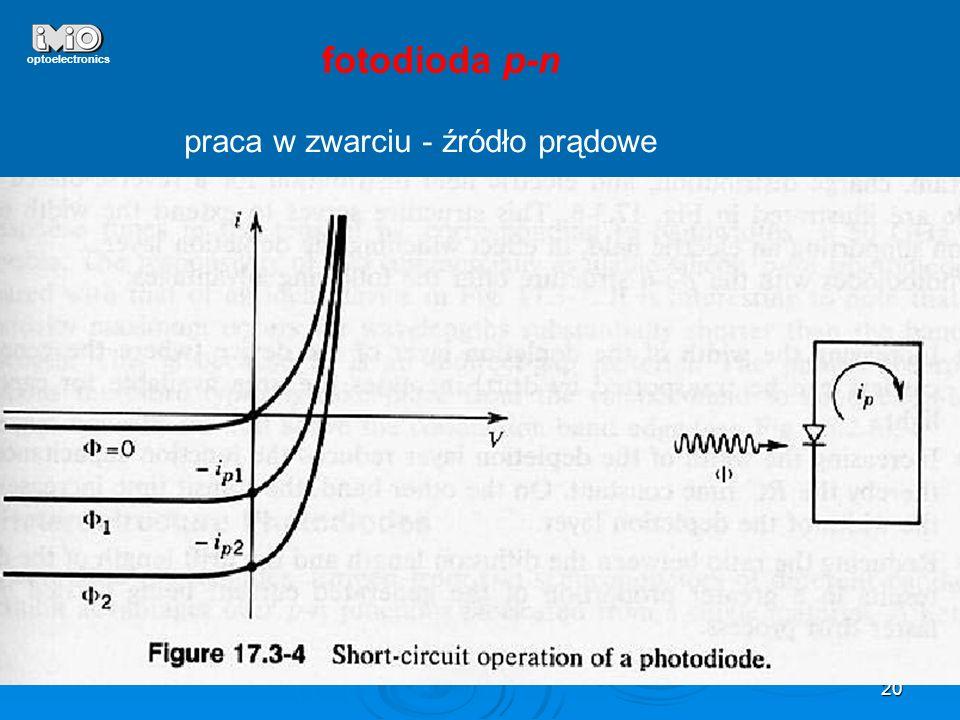 20 optoelectronics fotodioda p-n praca w zwarciu - źródło prądowe