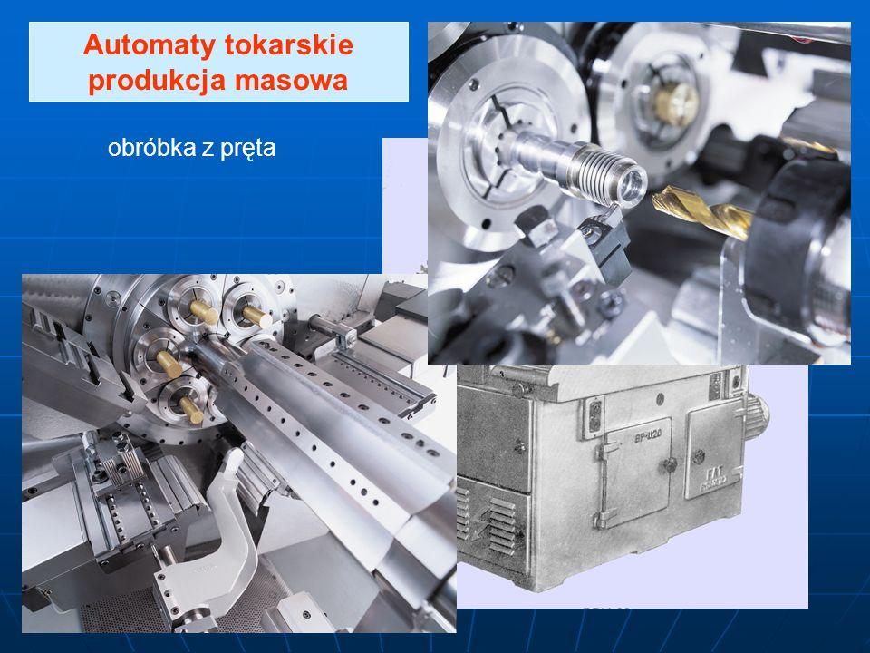 Automaty tokarskie produkcja masowa obróbka z pręta