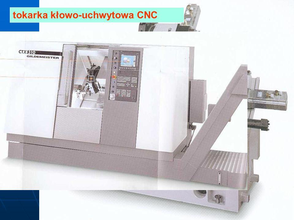 tokarka kłowo-uchwytowa CNC