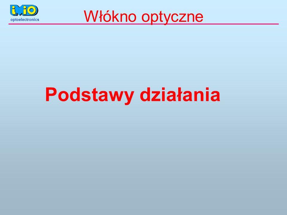 optoelectronics Podstawy działania Włókno optyczne