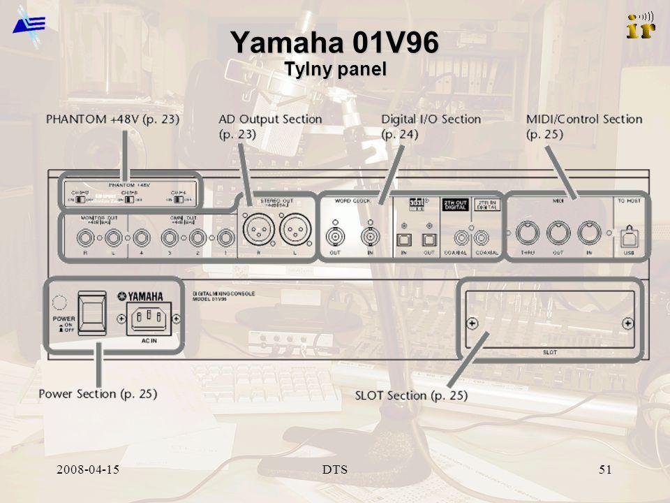 2008-04-15DTS51 Yamaha 01V96 Tylny panel