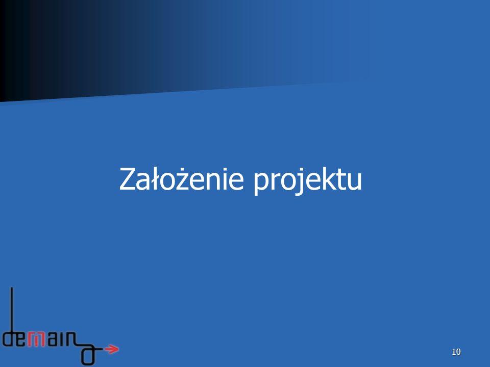 10 Założenie projektu
