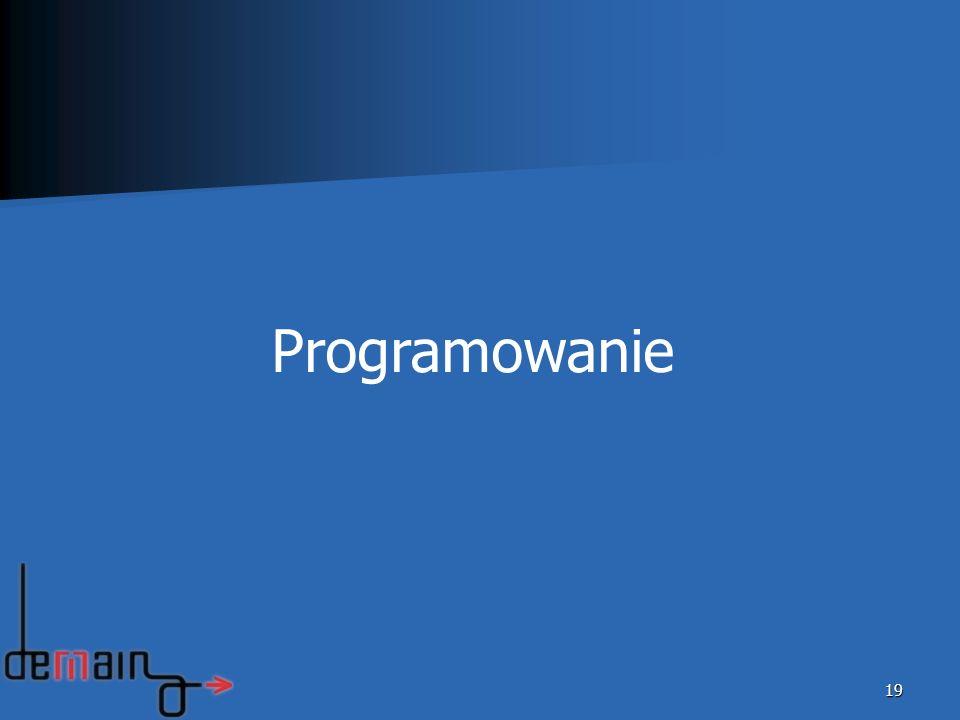 19 Programowanie