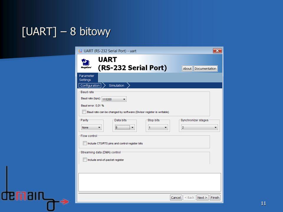 11 [UART] – 8 bitowy