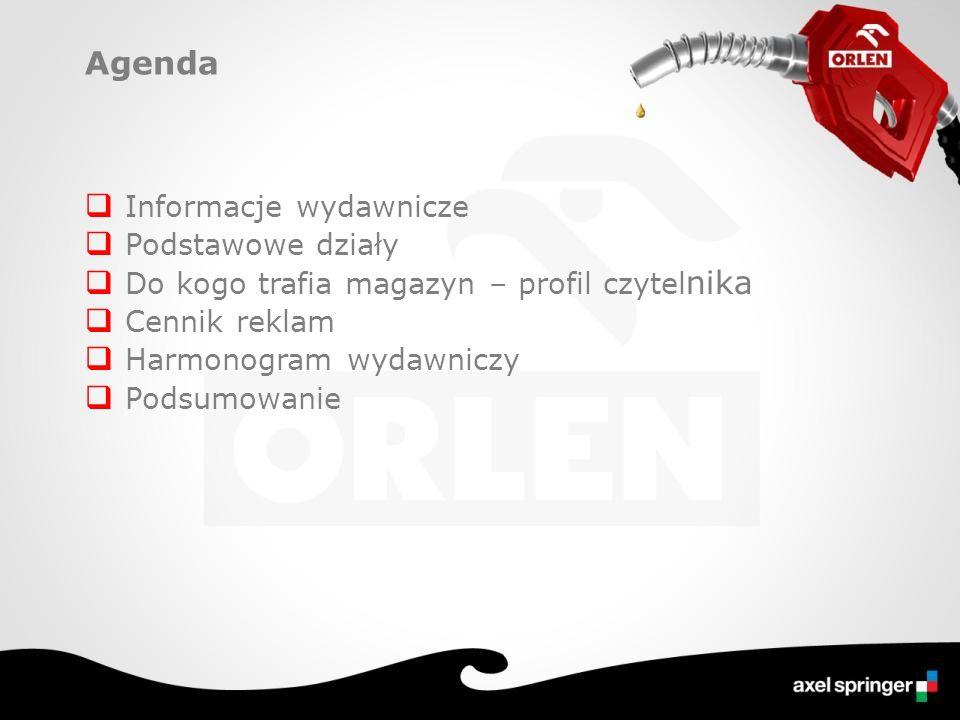 Profil klienta stacji Orlen Dbają o samochód… Źródło: TGI zrealizowane przez SMG/KRC, wskaźnik SCPW, GC: klienci stacji Orlen, 04/2008-03/2009