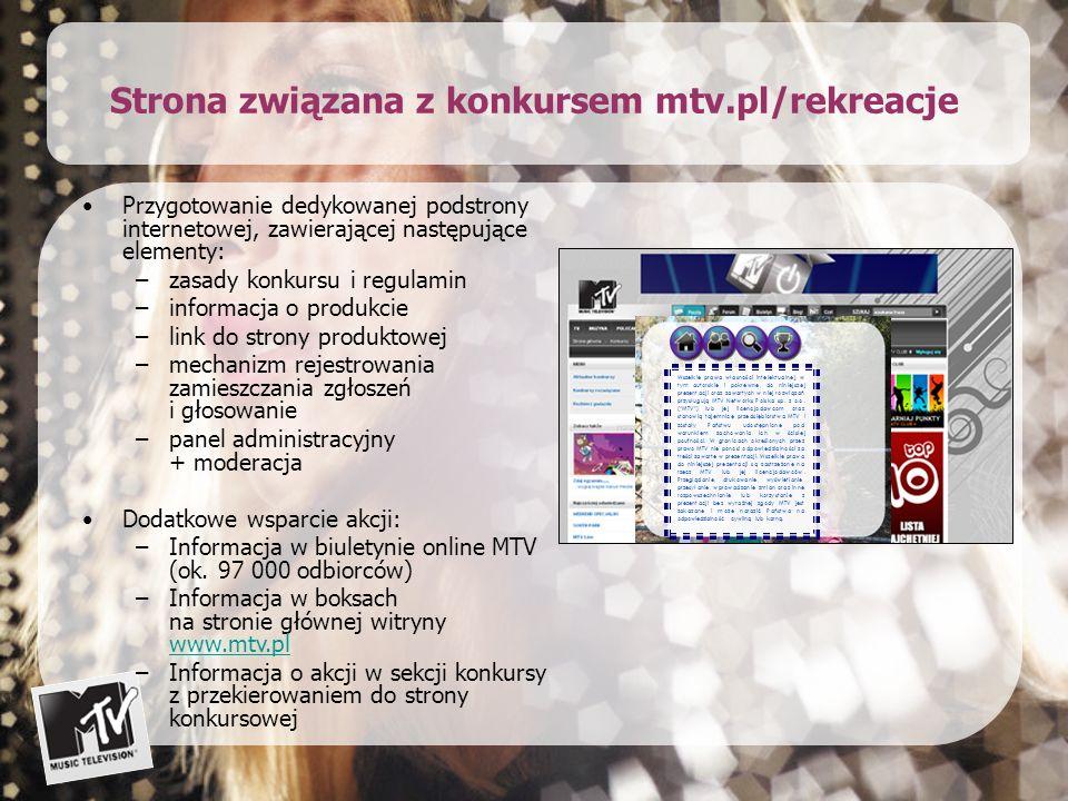 Oferta Wartość oferty: 148 000 PLN + VAT Oferta zawiera koszty produkcji programu, promo konkursowego i billboardów sponsorskich.