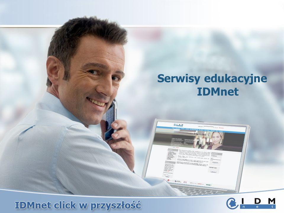 Serwisy edukacyjne IDMnet