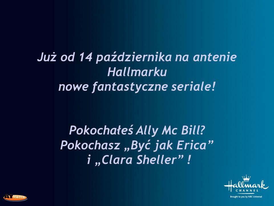Już od 14 października na antenie Hallmarku nowe fantastyczne seriale.