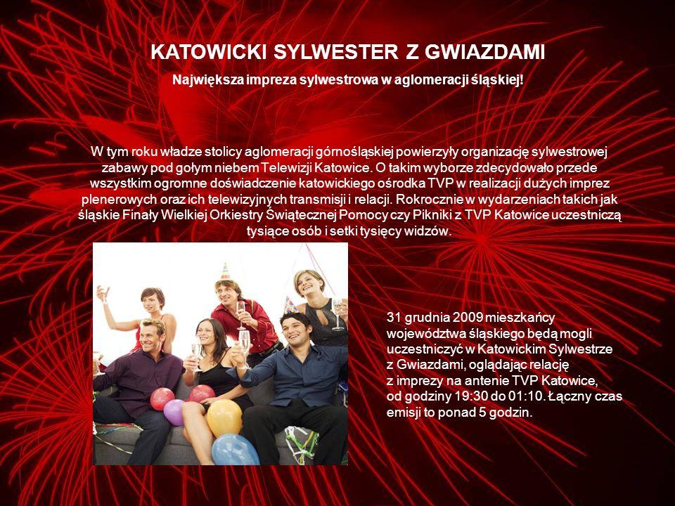 TVP Katowice zaprosiła do współpracy Gazetę Wyborczą oraz radio Eska, które obejmą imprezę opieką medialną, dzięki czemu Katowicki Sylwester z Gwiazdami poprzedzi intensywna kampania promocyjna o szerokim zasięgu społecznym.