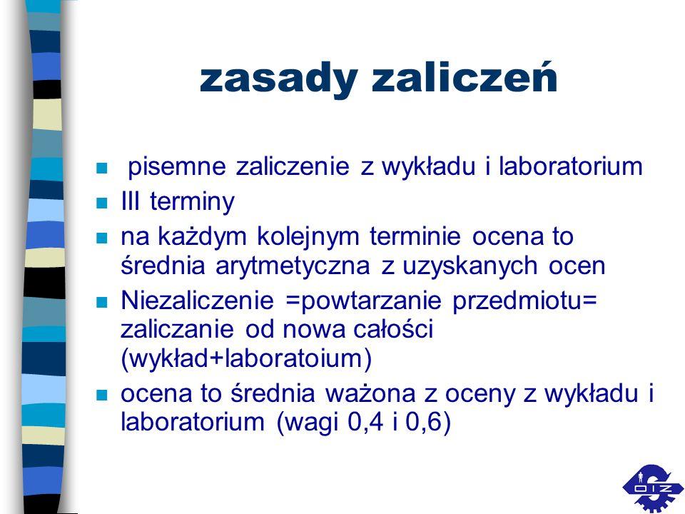 Literatura n Jędrzejczyk Z., Skrzypek J., Kukuła K., Walkosz A.