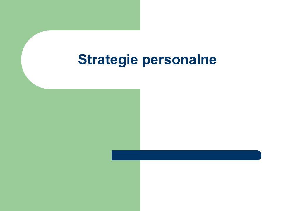 Strategie personalne