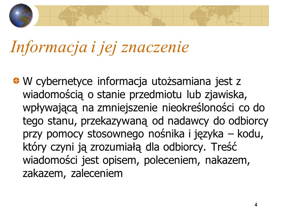 45 Środki techniczne systemów inf.