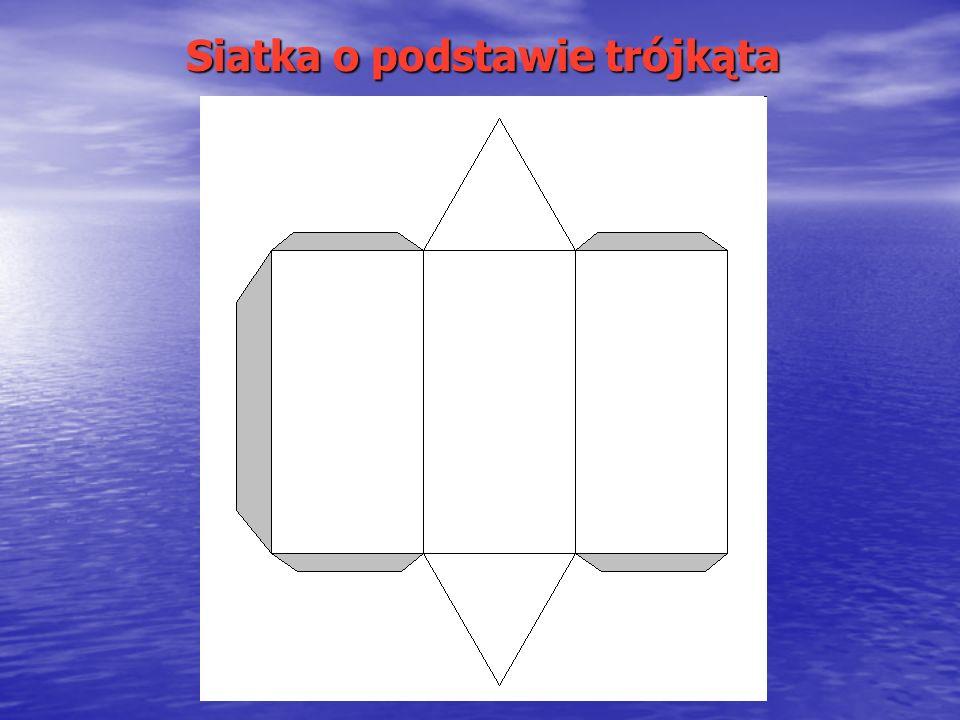 Siatka o podstawie trójkąta