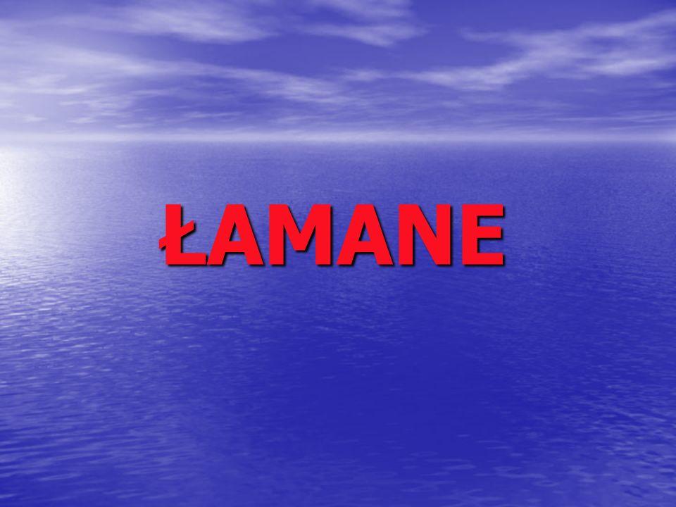 ŁAMANE