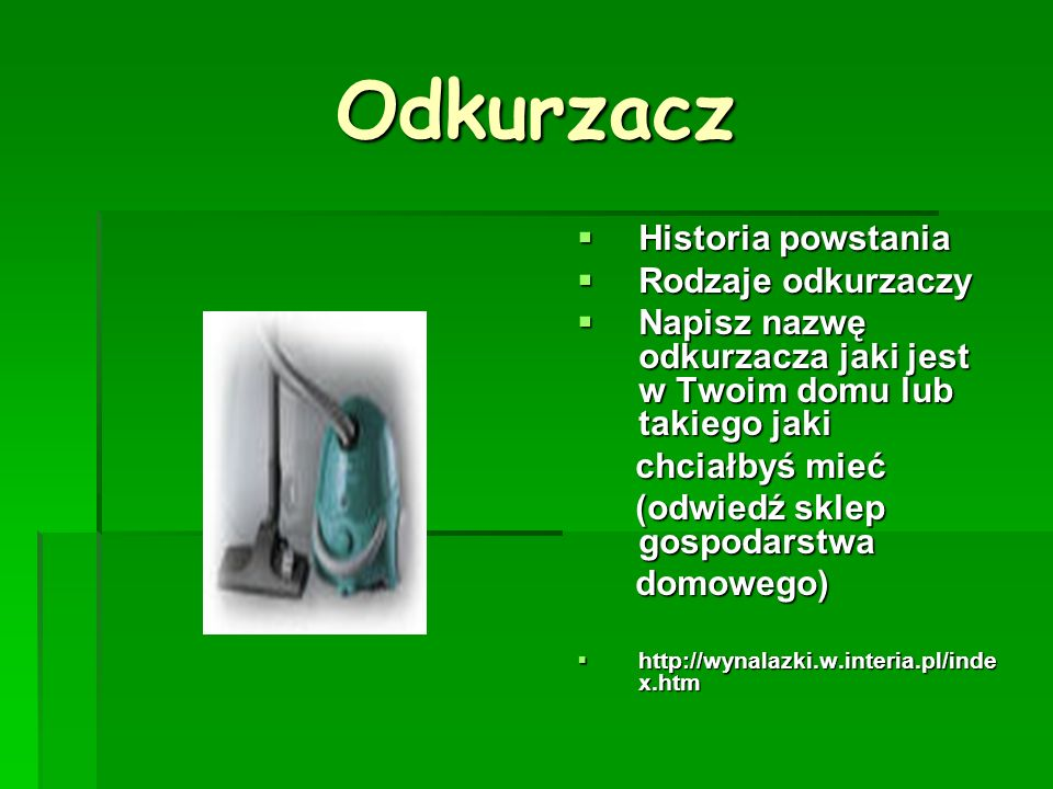 Żarówka Wynalazca Wynalazca Rodzaje żarówek Rodzaje żarówek B.h.p B.h.p http://zso.slomniki.ids.pl/wynalaz ki/duze/zarowka.htm http://zso.slomniki.ids.pl/wynalaz ki/duze/zarowka.htm http://zso.slomniki.ids.pl/wynalaz ki/duze/zarowka.htm http://zso.slomniki.ids.pl/wynalaz ki/duze/zarowka.htm http://science.eu.org/wynalazki/z arowka_ntl.php http://science.eu.org/wynalazki/z arowka_ntl.php http://science.eu.org/wynalazki/z arowka_ntl.php http://science.eu.org/wynalazki/z arowka_ntl.php http://www.angorka.com.pl/angor ka/numery/ http://www.angorka.com.pl/angor ka/numery/ http://www.angorka.com.pl/angor ka/numery/ http://www.angorka.com.pl/angor ka/numery/ 45-99/m450601k.html 45-99/m450601k.html http://eduseek.interklasa.pl/sciag a/praca.php?idp=2274 http://eduseek.interklasa.pl/sciag a/praca.php?idp=2274 http://eduseek.interklasa.pl/sciag a/praca.php?idp=2274 http://eduseek.interklasa.pl/sciag a/praca.php?idp=2274 http://www.wynalazki.pac.pl/wyn/ histo3.html http://www.wynalazki.pac.pl/wyn/ histo3.html
