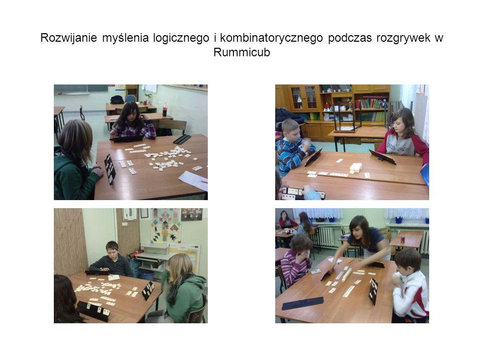 Rozwijanie myślenia logicznego i kombinatorycznego podczas rozgrywek w Rummicub