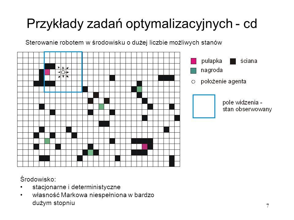28 podział na grupy reguł: wejściowe (detektory), wewnętrzne oraz wyjściowe (efektory) rozszerzenie części warunkowej reguł o blok związany np.