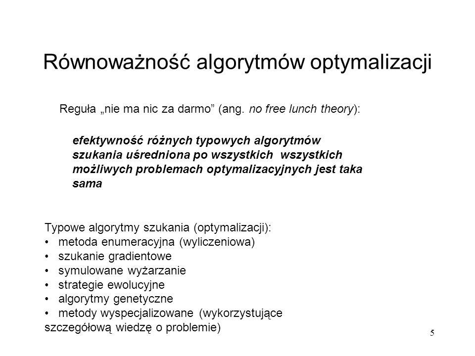 26 Algorytm z podziałem na podpopulacje podpopulacja 1 parametry AG-1 AG-1 podpopulacja 2 parametry AG-2 AG-2 podpopulacja K parametry AG-K AG-K...