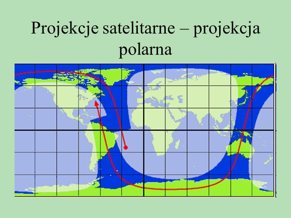 Projekcje satelitarne – projekcja polarna