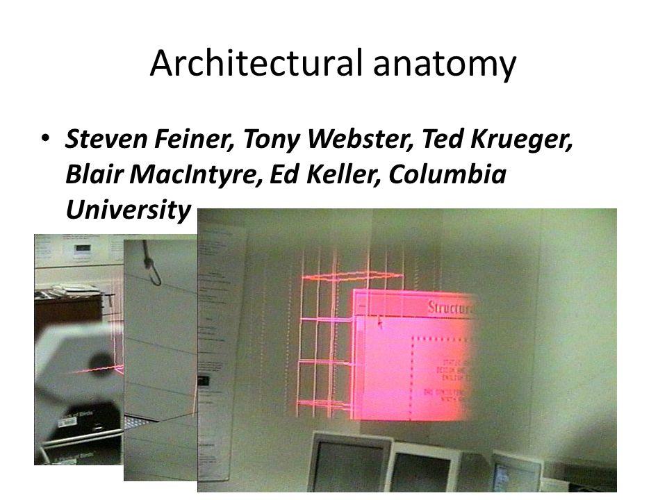 Architectural anatomy Steven Feiner, Tony Webster, Ted Krueger, Blair MacIntyre, Ed Keller, Columbia University