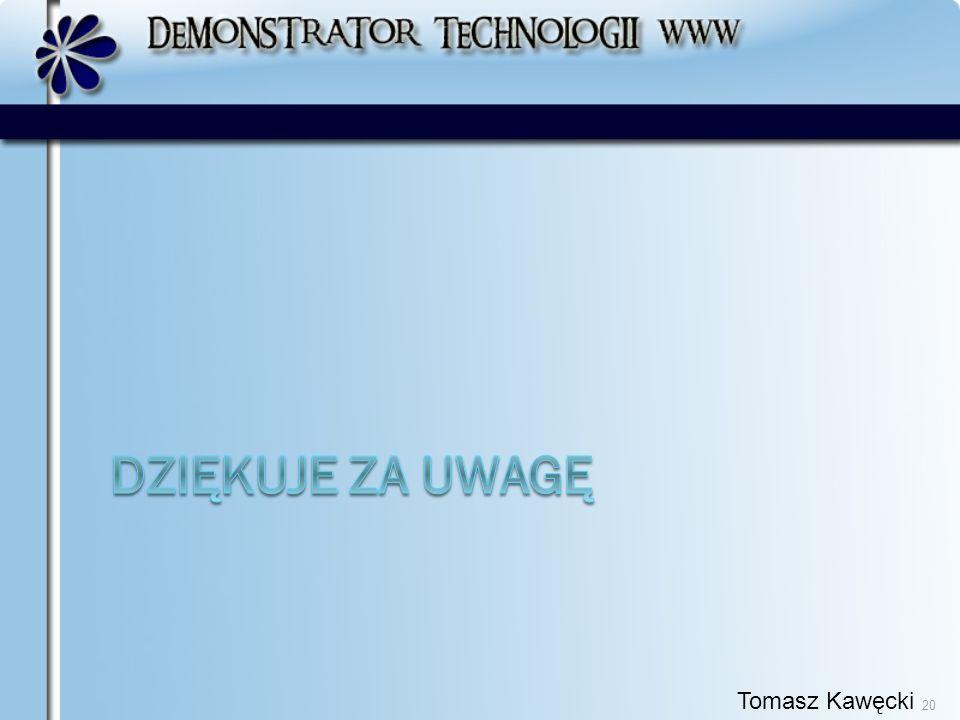 Tomasz Kawęcki 20