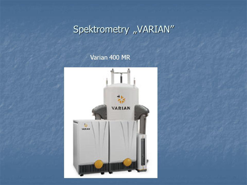 Spektrometry VARIAN Varian 400 MR
