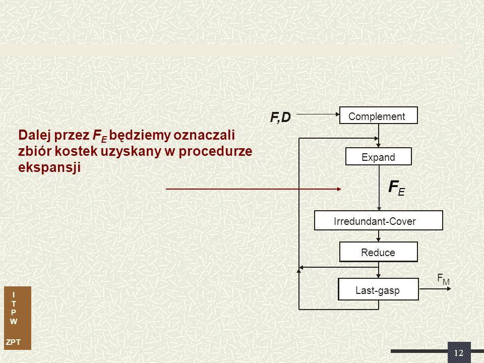 I T P W ZPT 11 Przykład sprawdzania tautologii...