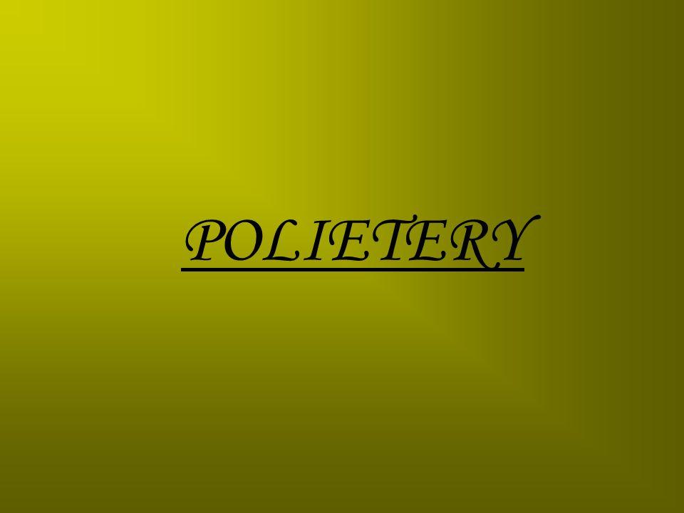 POLI(TLENEK ETYLENU)OTRZYMYWANIE: Poli(tlenek etylenu) otrzymuje się w polireakcji suspensyjnej z użyciem katalizatorów Zieglera-Natty w postaci proszku lub perełek.
