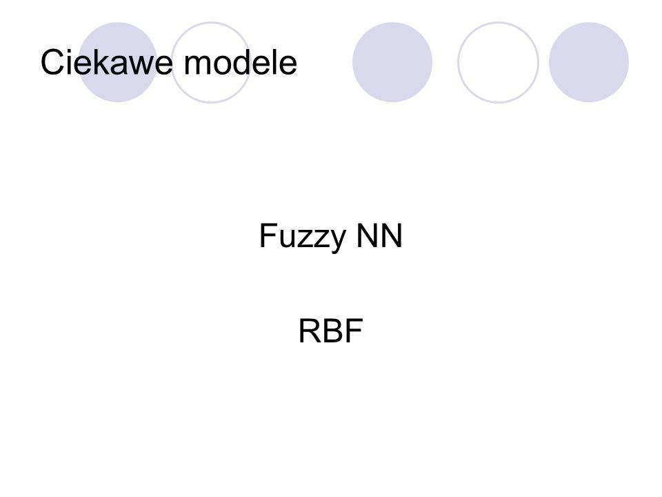 Ciekawe modele Fuzzy NN RBF