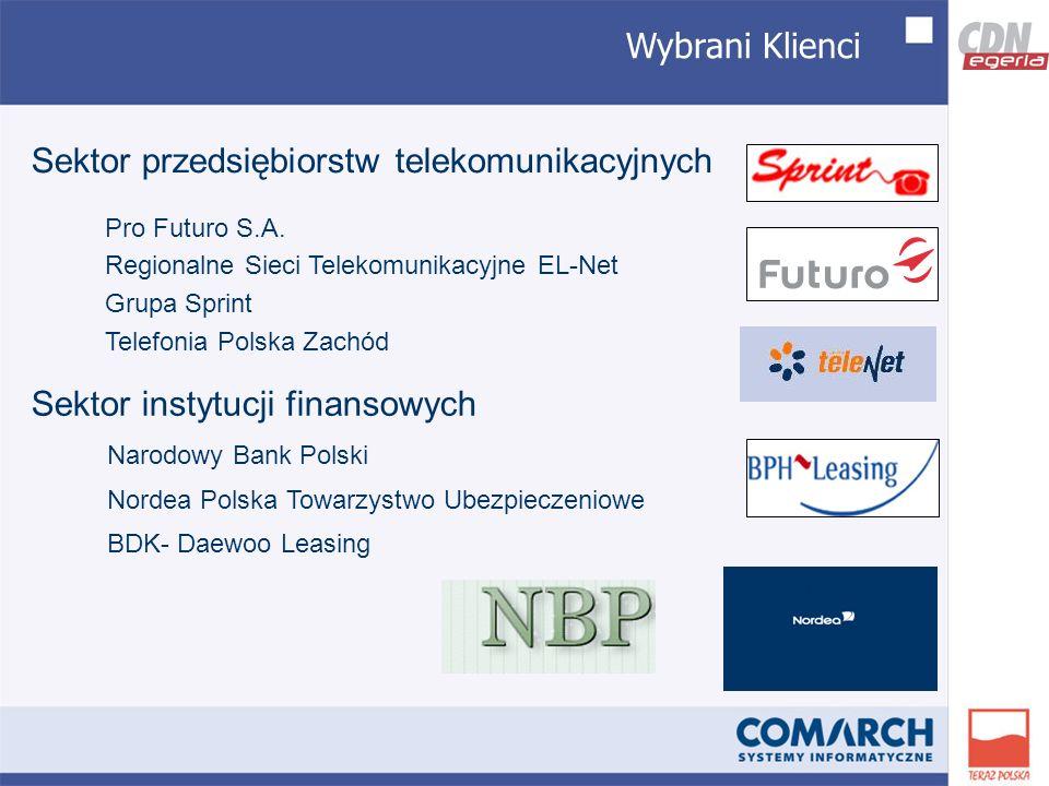 Wybrani Klienci Pro Futuro S.A.