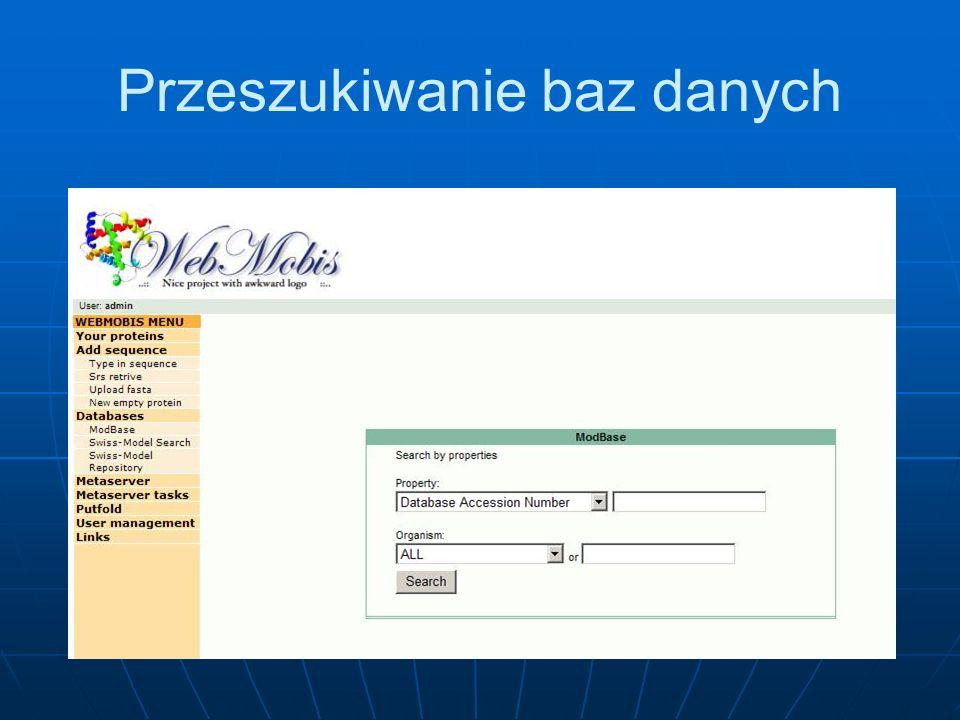 Przeszukiwanie baz danych